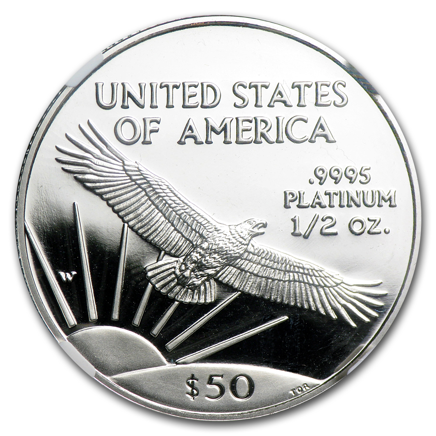1997-W 1/2 oz Proof Platinum American Eagle PF-70 NGC UCAM